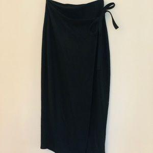Babaton Midlength Skirt with ribbon